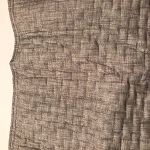 Hotel Collection Bedding - Hotel Collection Gray Quilted Pillowsham